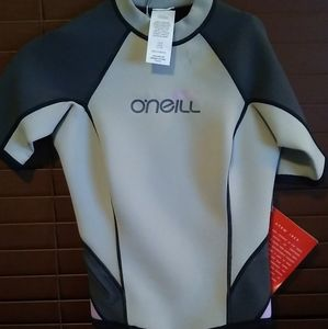 Brand new with tags O'Neal wetsuit style rash guar